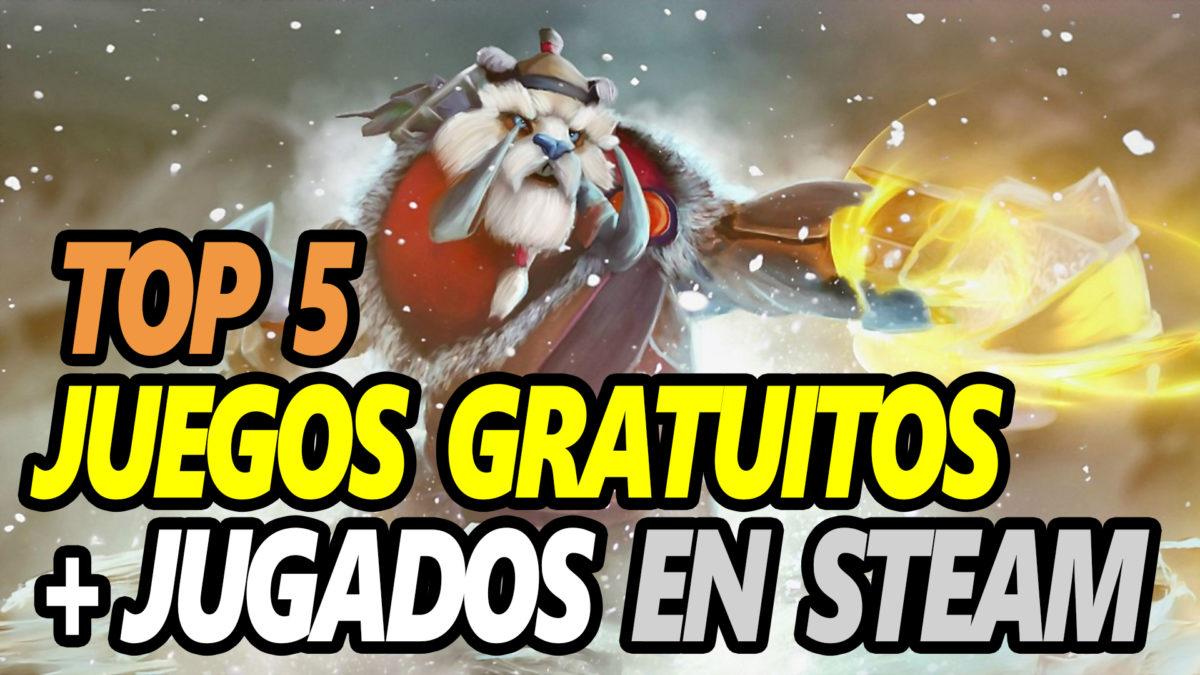 Los 5 Juegos Gratuitos Más Jugados En Steam Julio 2019